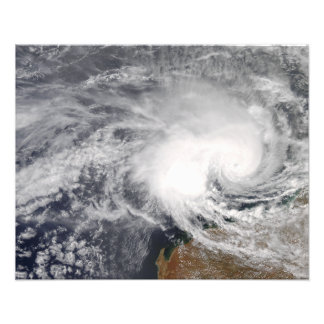 Tropical Cyclone Nicholas off Australia Photographic Print