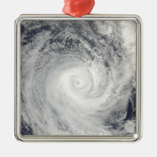 Tropical Cyclone Oli off the coast of Tahiti Christmas Ornament