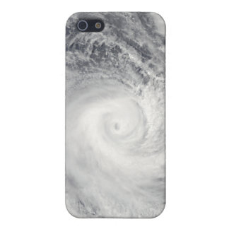 Tropical Cyclone Oli off the coast of Tahiti iPhone 5/5S Case