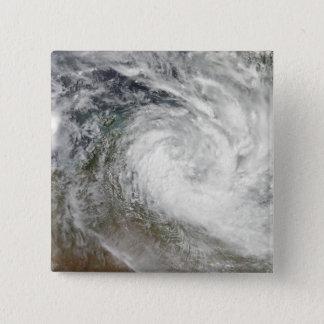 Tropical Cyclone Paul over Australia 2 15 Cm Square Badge