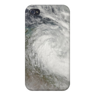 Tropical Cyclone Paul over Australia 2 iPhone 4 Cover