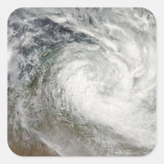 Tropical Cyclone Paul over Australia 2 Square Sticker