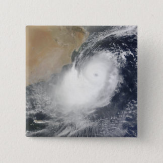 Tropical Cyclone Phet in the Arabian Sea 15 Cm Square Badge