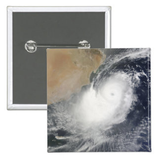 Tropical Cyclone Phet in the Arabian Sea 15 Cm Square Badge