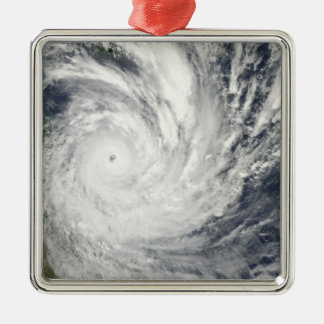 Tropical Cyclone Yasi over Australia Christmas Ornament