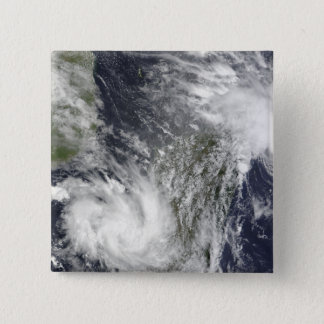 Tropical Cyclones Eric and Fanele 15 Cm Square Badge