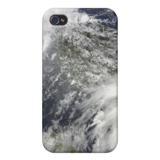 Tropical Cyclones Eric and Fanele iPhone 4 Case