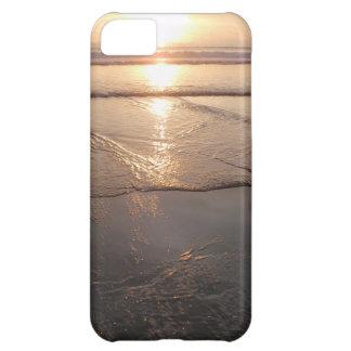 Tropical dark Beach sunset iPhone 5C Cases