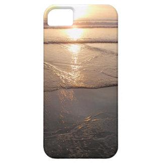 Tropical dark Beach sunset iPhone 5 Covers