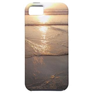 Tropical dark Beach sunset iPhone 5 Case