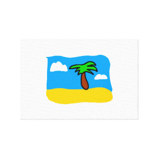 Tropical Day Canvas