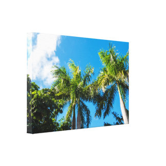 Tropical Day Canvas Print