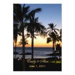 Tropical Destination Wedding Invitations 13 Cm X 18 Cm Invitation Card