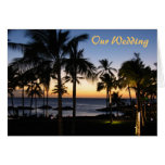 Tropical Destination Wedding Stationery Greeting Cards