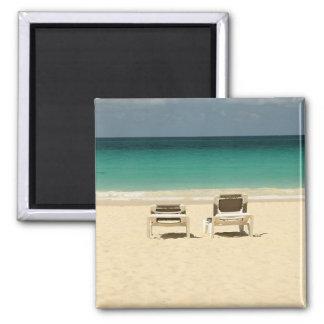 Tropical Dominican Beach Paradise Magnet