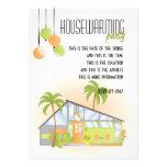 Tropical Dream House Invite