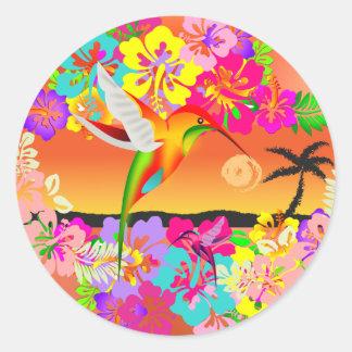 tropical dreams stickers
