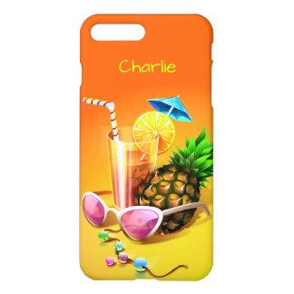 Tropical Drink custom name phone cases