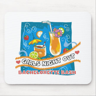 Tropical Drinks Bachelorette Bash Mouse Pads