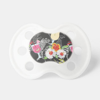 Tropical Drinks With Animals Pacifier