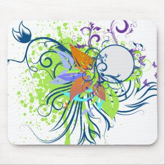 tropical elegance vector design mousepads