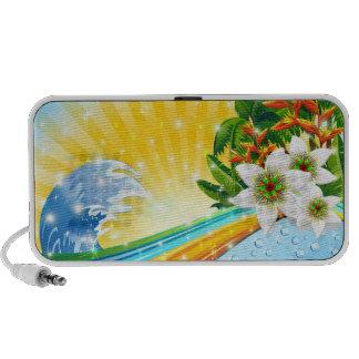 Tropical Exotic Summer Holidays Speaker System