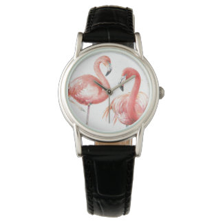 Tropical | Family of Flamingos Watch