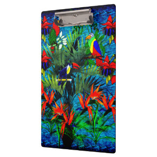 Tropical Fantasy Clipboard