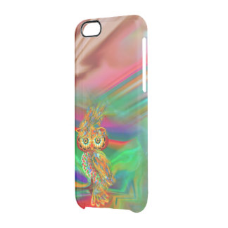 Tropical Fashion Queen Owl iPhone Case