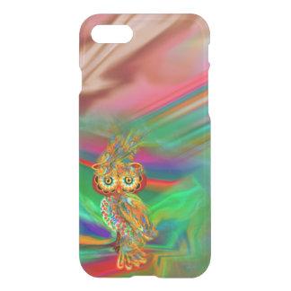Tropical Fashion Queen Owl iPhone Case