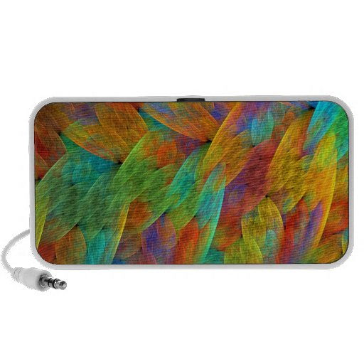 Tropical Feathers Travel Speaker