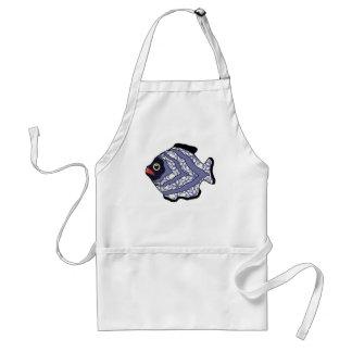 Tropical Fish-019 Apron