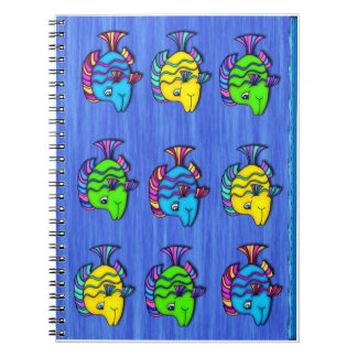 Tropical Fish 1 Spiral Notebook