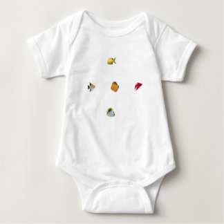 Tropical Fish Baby Bodysuit
