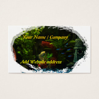 Tropical Fish Business Card 1