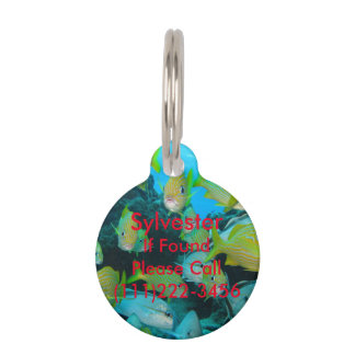 Tropical Fish Cat Tag