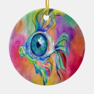 Tropical Fish Design Christmas Ornament