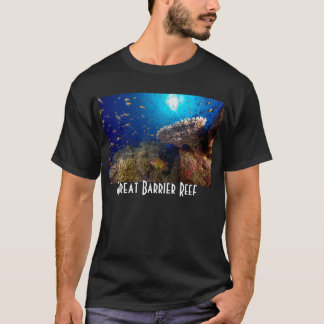 Tropical Fish Great Barrier Reef Coral Sea Gift T-Shirt