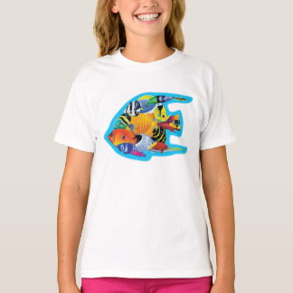 Tropical Fish Group T-shirt