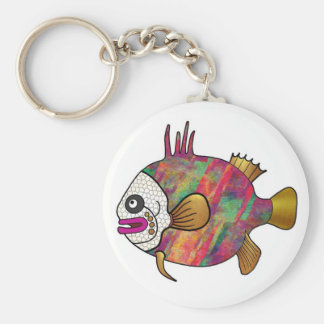 Tropical Fish Keychain - 18