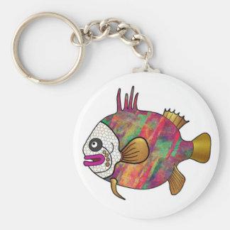 Tropical Fish Keychain - 18