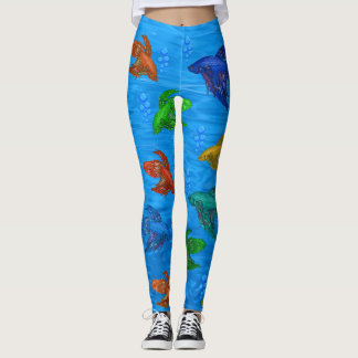 Tropical Fish leggings