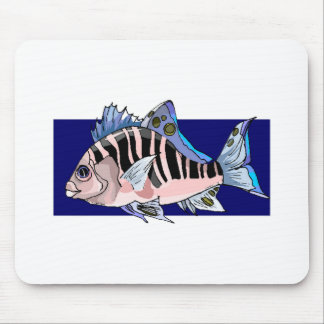 Tropical Fish Mouse Pads
