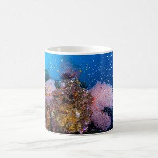 Tropical Fish of the Coral Sea Basic White Mug