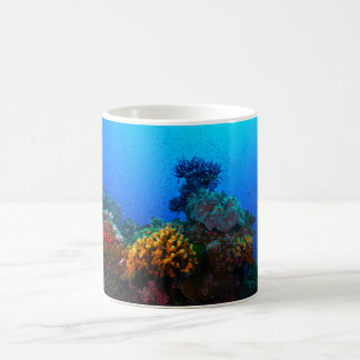 Tropical Fish on the Great Barrier Reef Basic White Mug