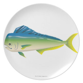 Tropical Fish Plate
