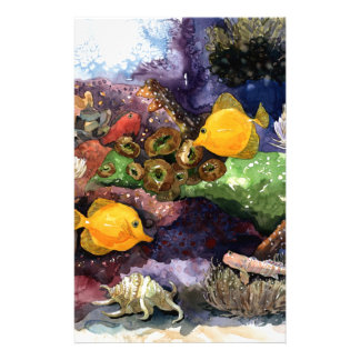 Tropical Fish Stationery