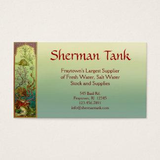 Tropical Fish & Supplies Business Card