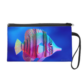 Tropical Fish Wristlet