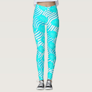 Tropical fishes leggings